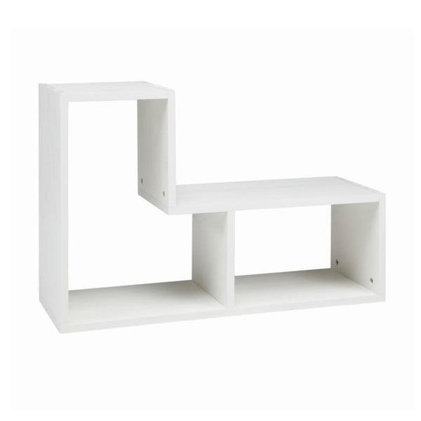 Tetris fehér polc - WOOOD