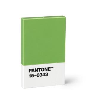 Suport cărți de vizită Pantone, verde