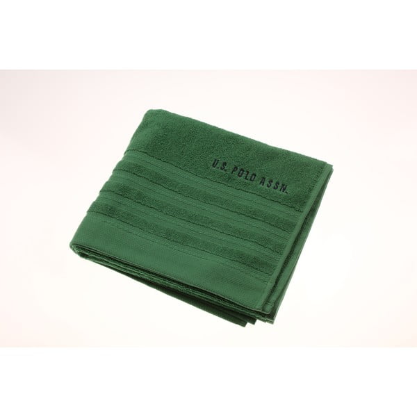 Ručník U.S. Polo Assn Green, 50x90 cm
