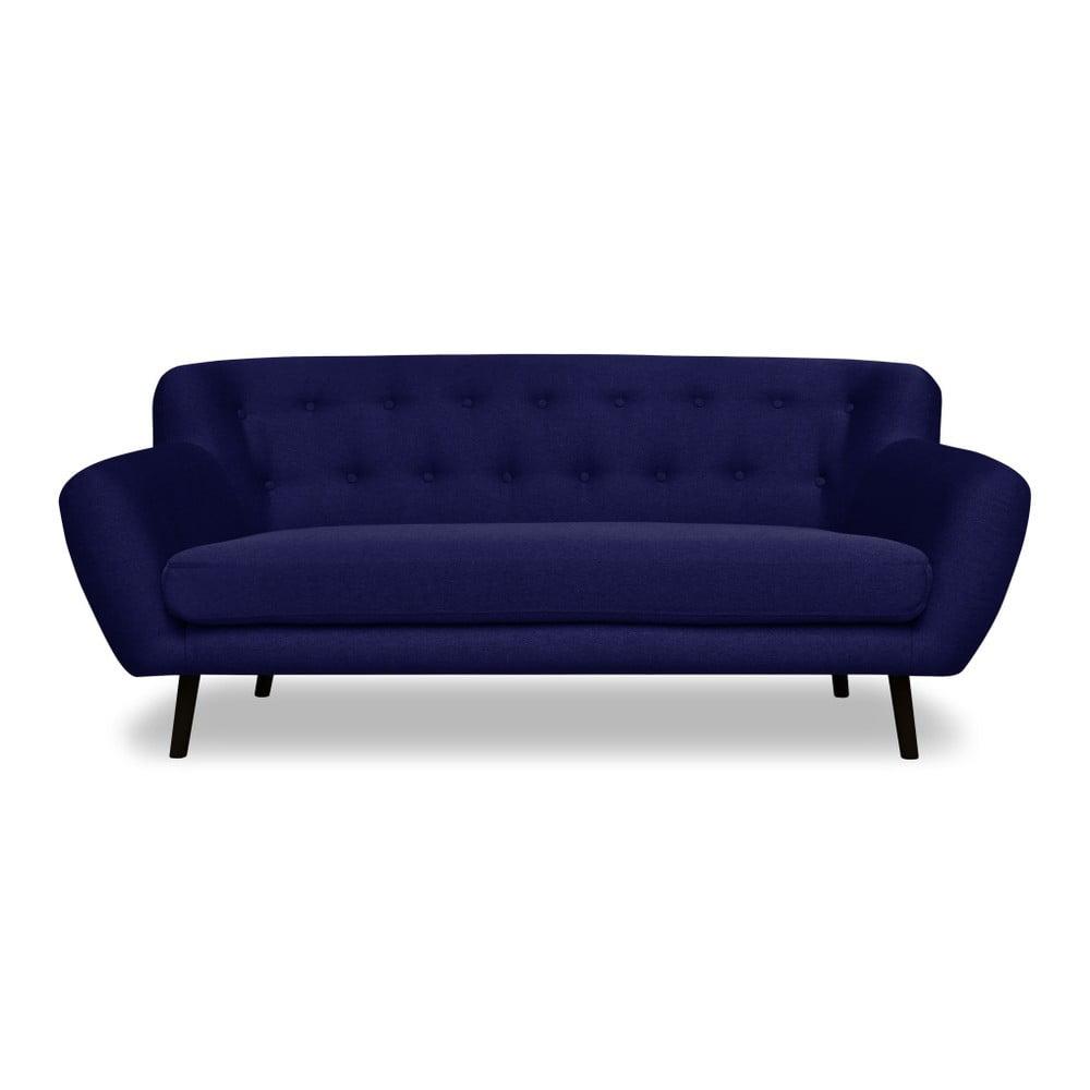 Modrá pohovka pro tři Cosmopolitan design Hampstead