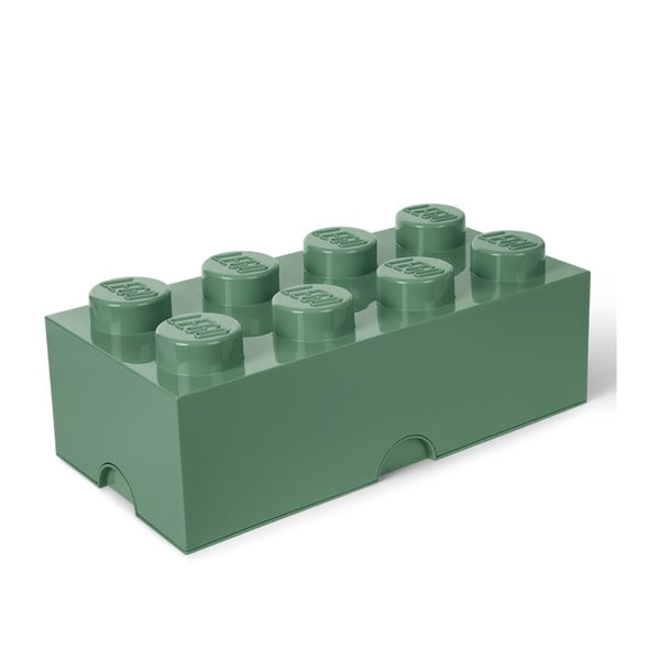 Kaki zelený úložný box LEGO®