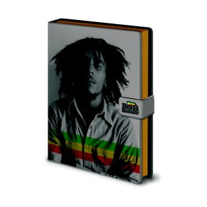 Zápisník A5 Pyramid International Bob Marley, 120 stran