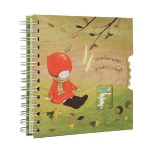 Zápisník Santoro London Poppi Loves Autumn, 120 stran