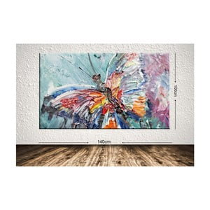 Obraz Colours Butterfly, 100 x 140 cm