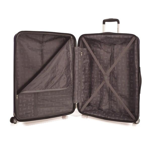 Sada 3 kufrů Jaslen, stříbrná