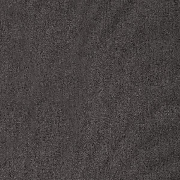 Šedá trojmístná pohovka s nohami ve stříbrné barvě Vivonita Meyer Velvet