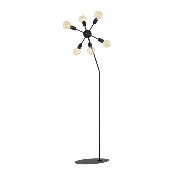 Černá volně stojící lampa Scorpius Suro