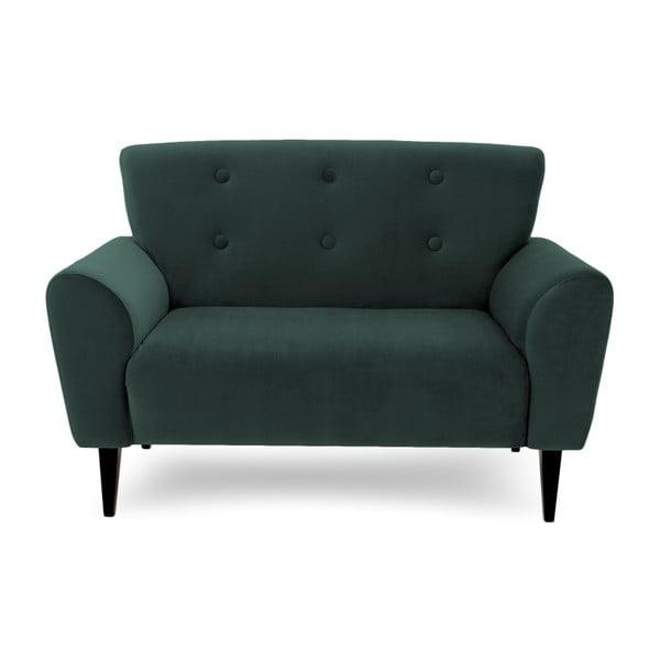 Canapea cu 2 locuri Vivonita Kiara, verde petrol