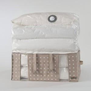 Cutie depozitare cu sac vid Compactor Rivoli, lățime 65 cm, bej