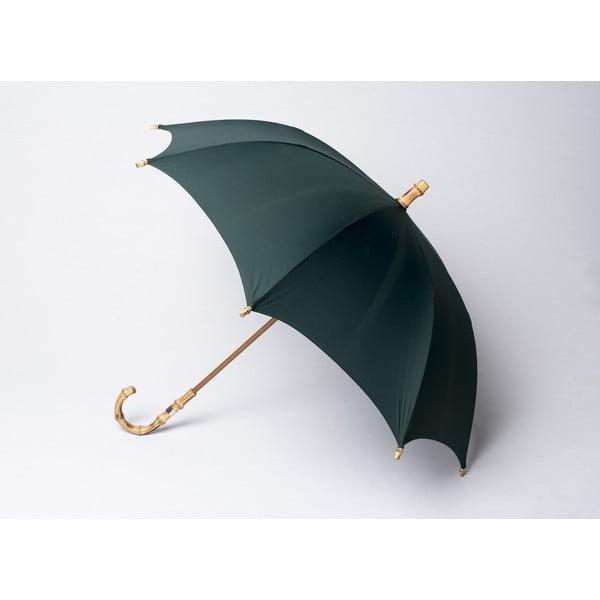 Bambusový deštník Gents, zelený