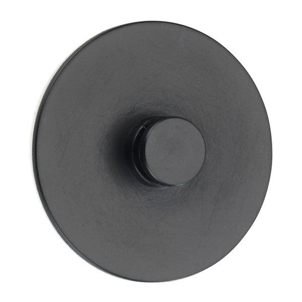 Turbo-Loc Classic Plus fekete falra szerelhető akasztó - Wenko