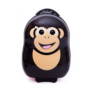Kufřík s kolečky Šimpanz
