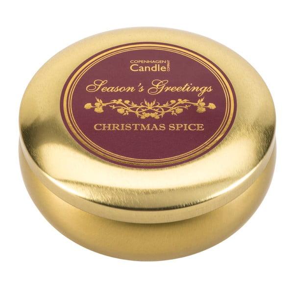 Svíčka v plechovce Christmas Spice, 28 hodin hoření