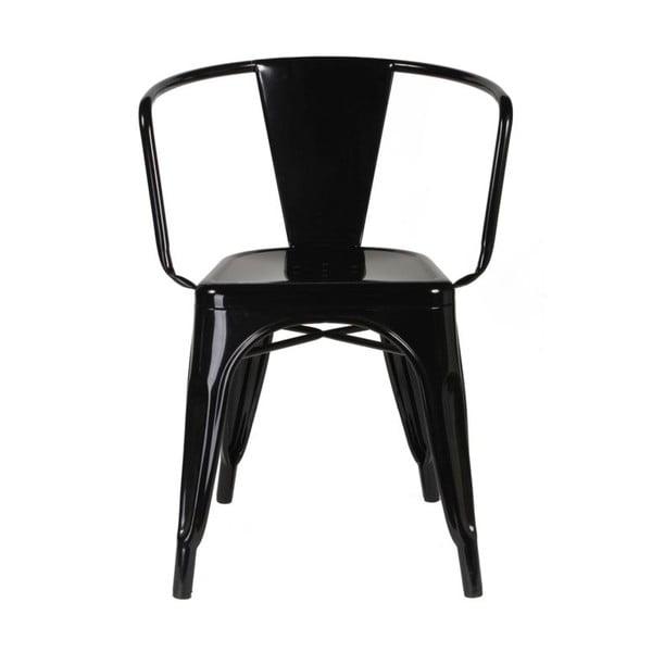 Židle Vintage Industrial Black