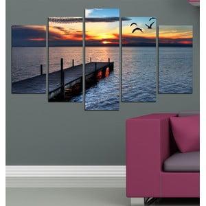 5dílný obraz U jezera