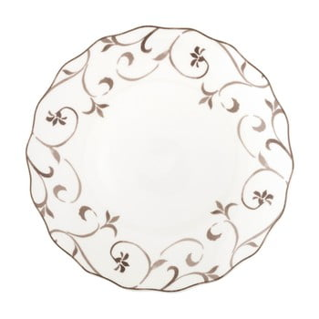 Farfurie din porțelan Brandani Ricciolo Di Dama, ⌀ 27 cm