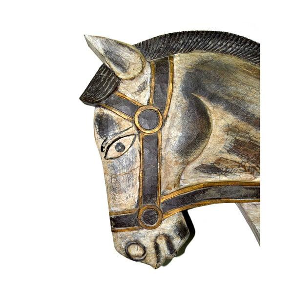 Dekorativní soška Carved Horse