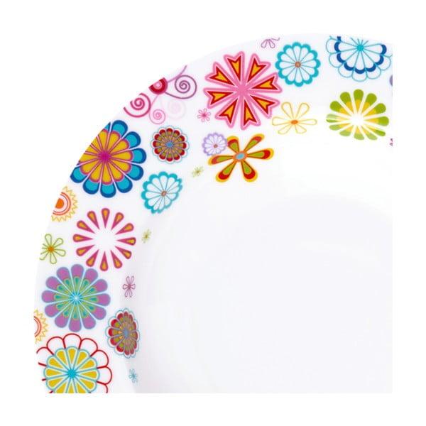 Polévkový talíř Krauff Blumen, 21.5 cm