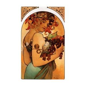 Tablou Alfons Mucha - Fruit, 60x90 cm