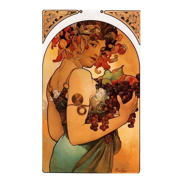 Obraz Fruit od Alfonse Muchy, 40x60 cm