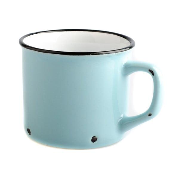 Cană din ceramică Dakls Story Time Over Tea, 230 ml, albastru deschis
