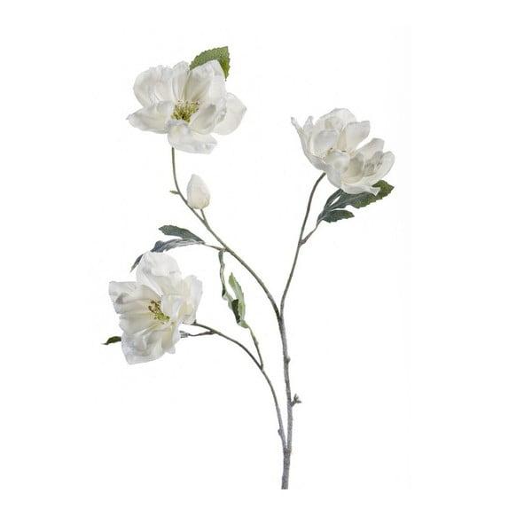Umělá květina Čemeřice, bílá