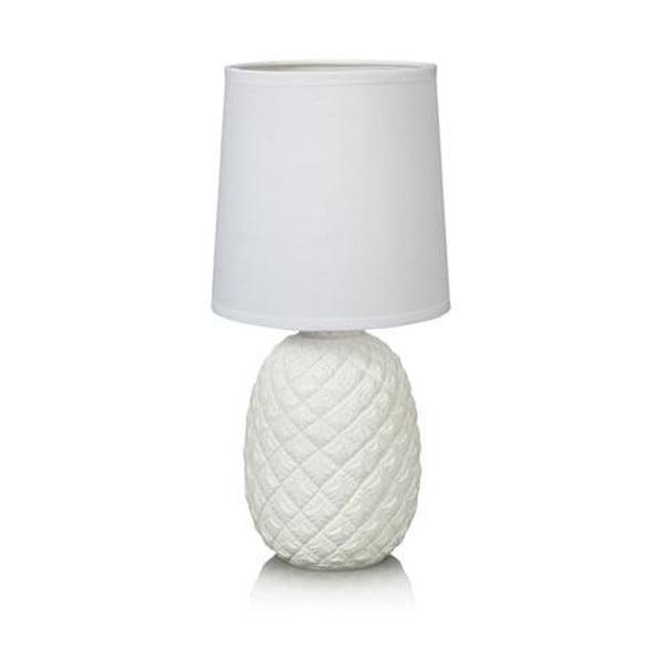 Bílá stolní lampa Markslöjd Pineapple