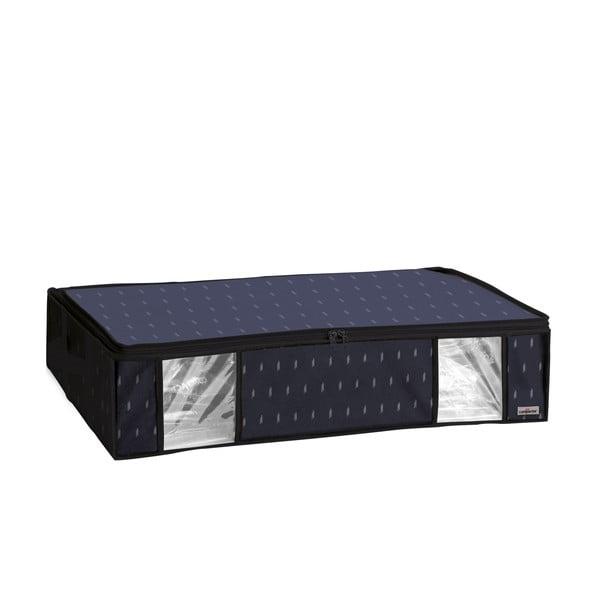 Černý vakuový úložný box na oblečení Compactor Kasuri, 145 l