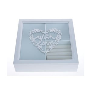 Úložný box na šperky Ewax Jewellery Box, 24 x 24 cm