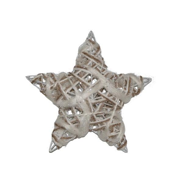 Sada 3 závěsných hvězd Rattan
