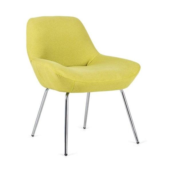 Žlutá židle Design Twist Taba