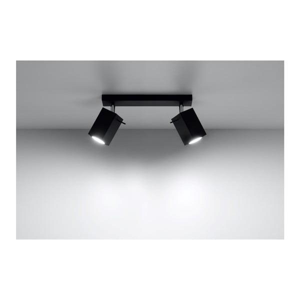 Černé stropní světlo Nice Lamps Toscana2