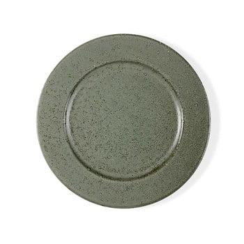 Farfurie din ceramică Bitz Basics Green, ⌀ 27 cm, verde