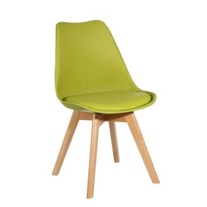 Zelená židle Ixia Alvilda