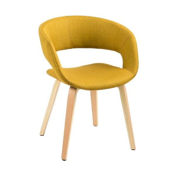 Žltá jedálenská stolička Actona Grace