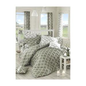 Lenjerie de pat cu cearșaf Anja, 200 x 220 cm