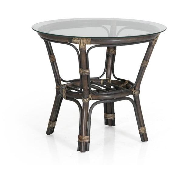 Šedý zahradní stolek Brafab Kubor, ∅65cm
