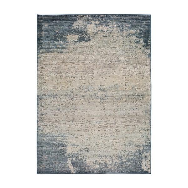 Šedo-modrý koberec Universal Farashe Abstract, 160 x 230 cm