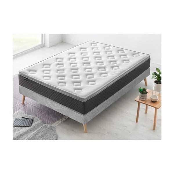 Dvoulůžková postel s matrací Bobochic Paris Fraicheur,140x190cm