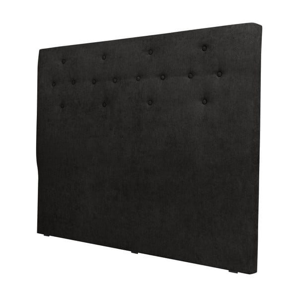 Černé čelo postele Windsor & Co Sofas Phobos, 180 x 120 cm
