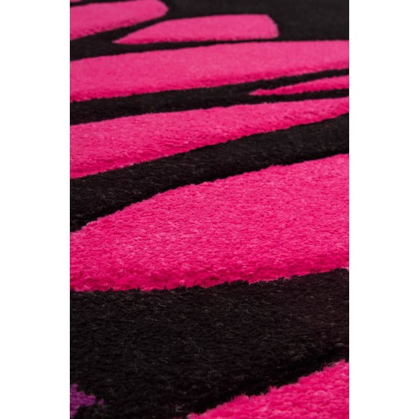 Koberec Lifestyle 174 black/fuchsia, 80x150 cm