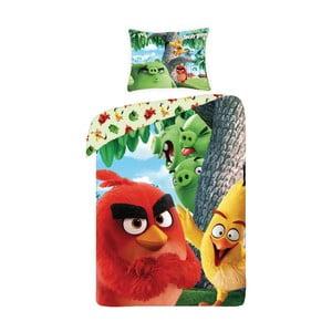 Dětské bavlněné povlečení Halantex Angry Birds Movie, 140 x 200 cm
