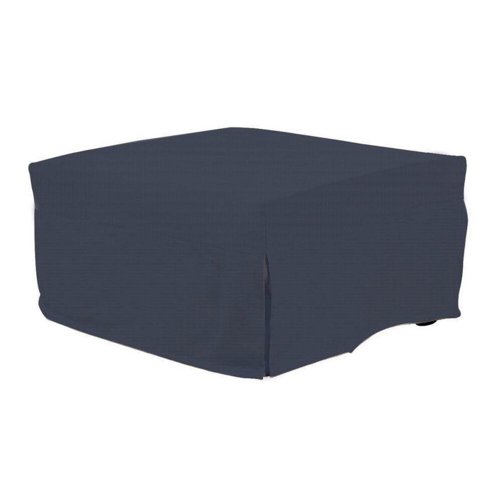 Tmavě modrý rozkládací puf/lůžko 13Casa Evelin