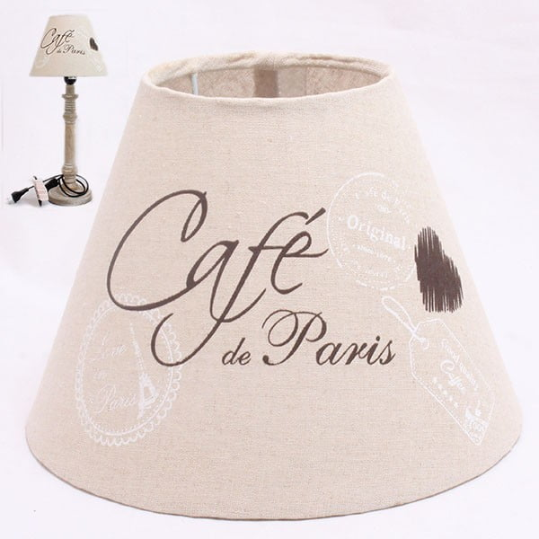 Stínidlo lampy Café de Paris