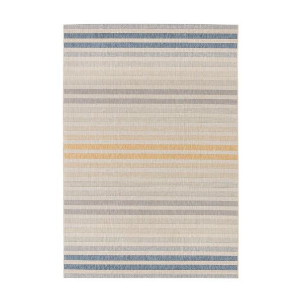 Niebiesko-pomarańczowy dywan odpowiedni na zewnątrz Bougari Paros, 200x290 cm