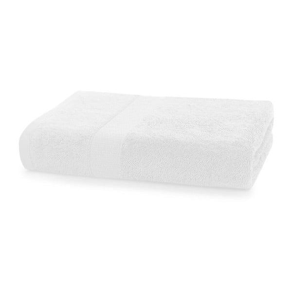 Bílý ručník DecoKing Marina, 70 x 140 cm
