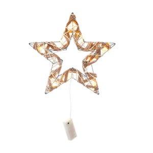 Decorațiune luminoasă cu LED Unimasa Star, auriu
