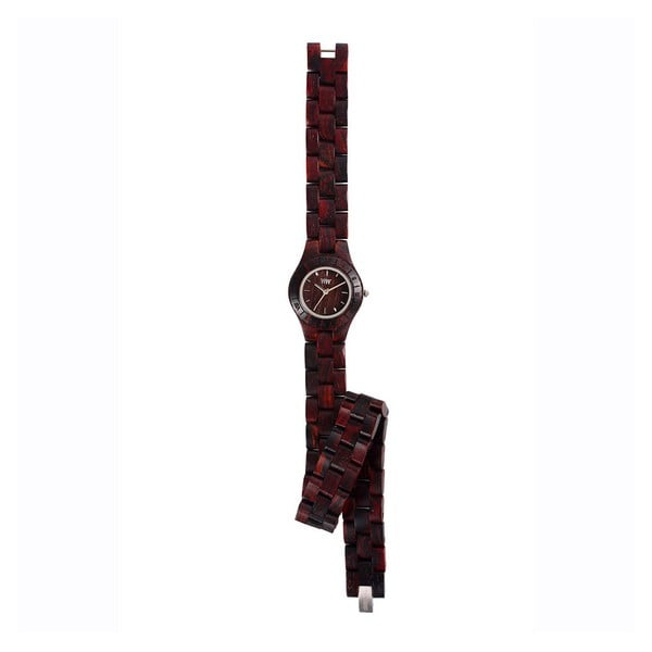 Dámské dřevěné hodinky Venus Chocolate