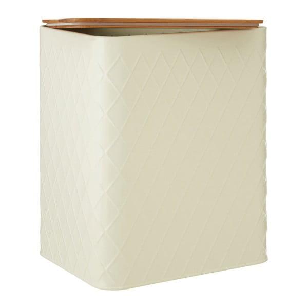 Obdélníková krémová dóza s bambusovým víčkem Premier Housewares Rhombus