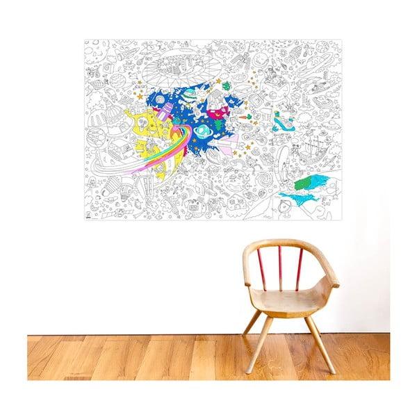 Omalovánka OMY Cosmos (70 x 100 cm)